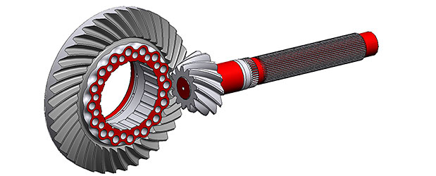 Spiral Bevel and Hypoid gears